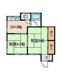 [一戸建] 神奈川県相模原市南区栄町 の賃貸【/】の間取り