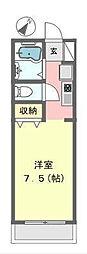 東戸塚ヒルズ[2階]の間取り