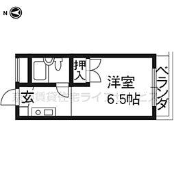 ハイツ大田[3-B号室]の間取り