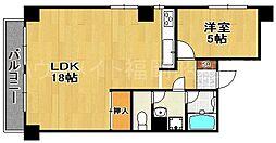 六本松パールシャトー[2階]の間取り