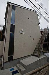神奈川県横浜市港北区仲手原2の賃貸アパートの外観