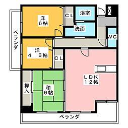 メゾンSK[2階]の間取り