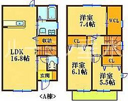 [テラスハウス] 兵庫県神戸市垂水区塩屋町6丁目 の賃貸【/】の間取り