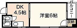 ハイムイトウ[3階]の間取り