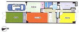 コスモ新桜台[107号室]の間取り