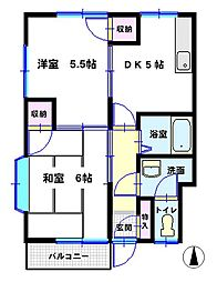増田ハイツ[A102号室]の間取り
