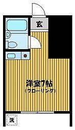 矢本ハイツ[1階]の間取り