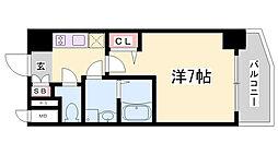 ファステート神戸アモーレ[701号室]の間取り