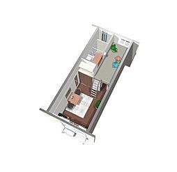 クレールC[2階]の間取り