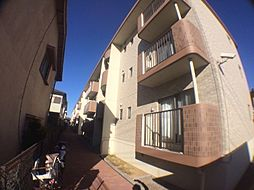 千葉県柏市八幡町の賃貸マンションの外観