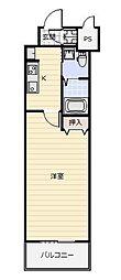No.65 クロッシングタワー ORIENT BLD.[402号室]の間取り
