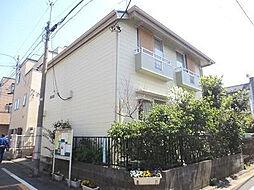 東京都目黒区目黒本町5の賃貸アパートの外観