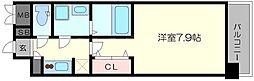 コンフォリア心斎橋EAST[13階]の間取り