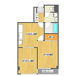 Residence Oak II[502号室]の間取り