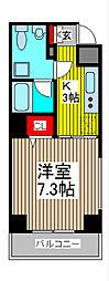 ベル・ヴュー川口本町[2階]の間取り