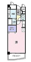 神奈川県大和市桜森2の賃貸マンションの間取り