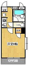 コンフォートマンション下町第2[3階]の間取り