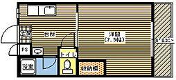 ジョイフル21[202号室]の間取り
