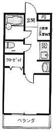 ステラハウス4-300[302号室]の間取り
