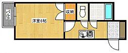 トランプヒルズ[4階]の間取り