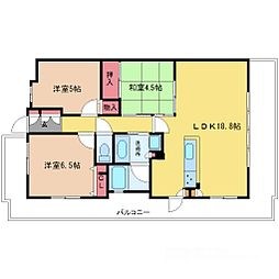 新大阪WIST[7階]の間取り