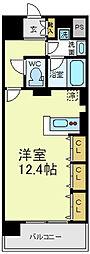 KAISEI四天王寺[10階]の間取り