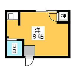 宮園荘[2階]の間取り