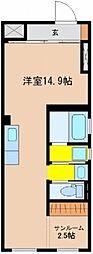 vivoH[301号室]の間取り