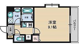 アドバンス新大阪City Life[4階]の間取り