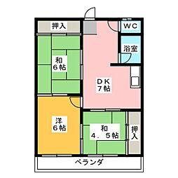 第3菊屋ビル[3階]の間取り