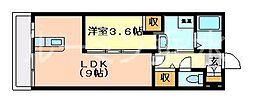 KTIレジデンス垂水五色山[1階]の間取り