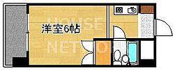 京都府京都市東山区下河原町の賃貸マンションの間取り