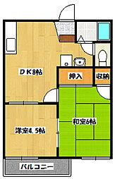 ひなたハウス[1階]の間取り