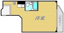 高木ビル[4階]の間取り