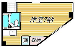 カーサ茜No.3[2階]の間取り