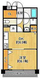 コナ・パラッツォ[6階]の間取り