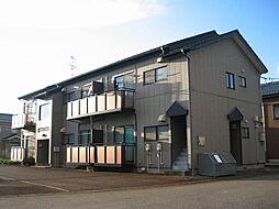 新潟県燕市分水学校町1丁目の賃貸アパートの外観