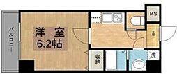 リエトコート福島[5階]の間取り