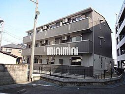 愛知県岡崎市鴨田町字所屋敷の賃貸アパートの外観