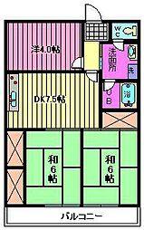 第3小池ビル[6階]の間取り