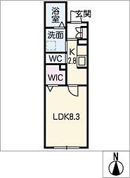 仮)シャーメゾン東海通[1階]の間取り