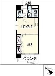 メゾンボナール[5階]の間取り