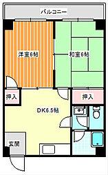 阪下ハウスマンション[2階]の間取り