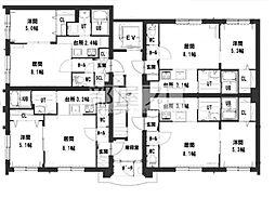 仮称)グランメール北36条東15 新築MS[5階]の間取り