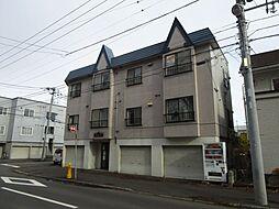 北海道札幌市東区北四十条東12丁目の賃貸アパートの外観