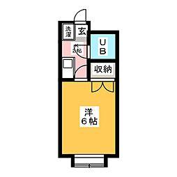 片岡ビル[3階]の間取り