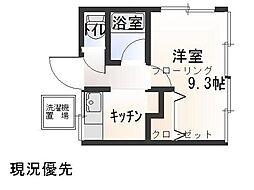 OKAZAKI[1号室]の間取り