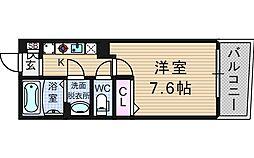 KW RESIDENCE AWAZA[5階]の間取り
