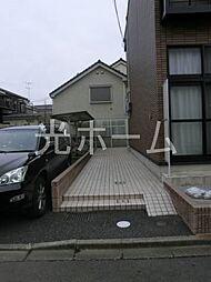 東京都清瀬市中里1丁目の賃貸アパートの外観