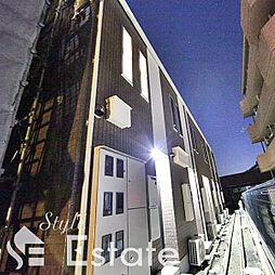 愛知県名古屋市中川区春田4丁目の賃貸アパートの外観